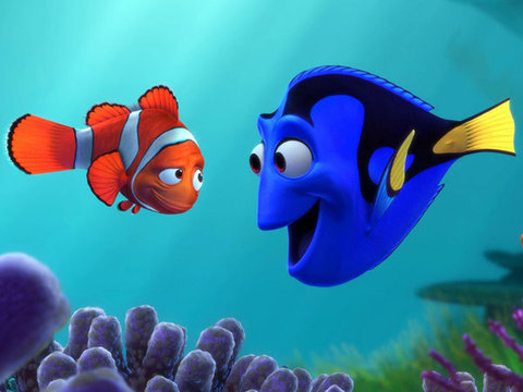 Nemo Marlin and Doris