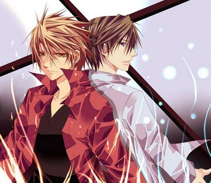 Αγόρια Anime online παζλ