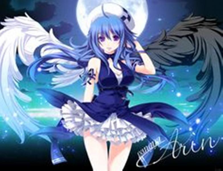 Κορίτσι Anime online παζλ