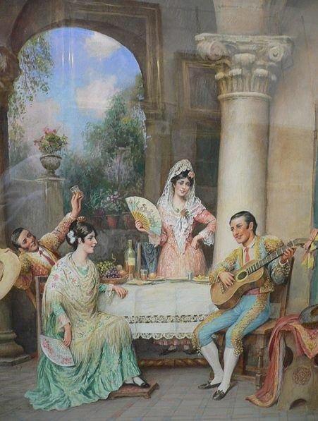 Fiesta tipica andaluza