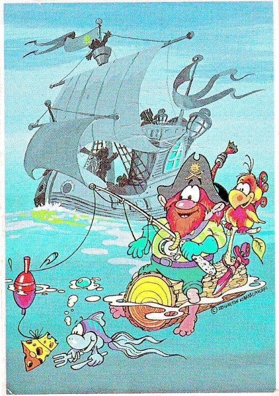 piratas del barco negro