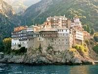 Muntele Athos puzzle