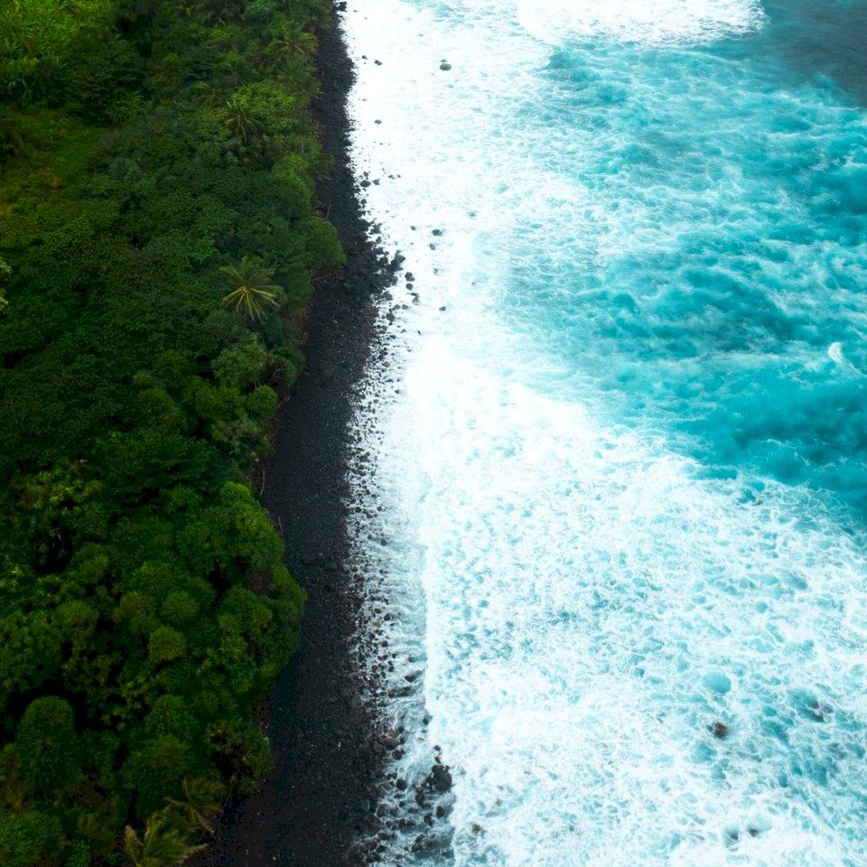 Utsikt över Big Island of