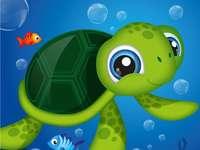 Die Meeresschildkröte