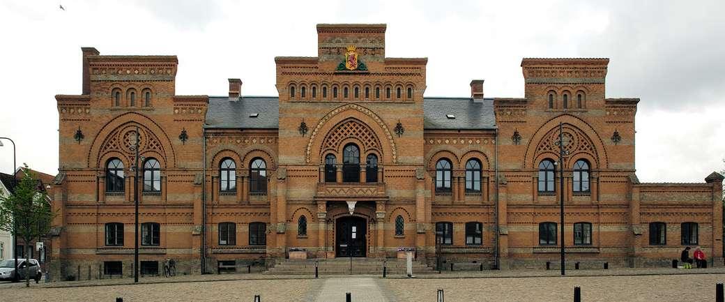 Město Fredericia v Dánsku