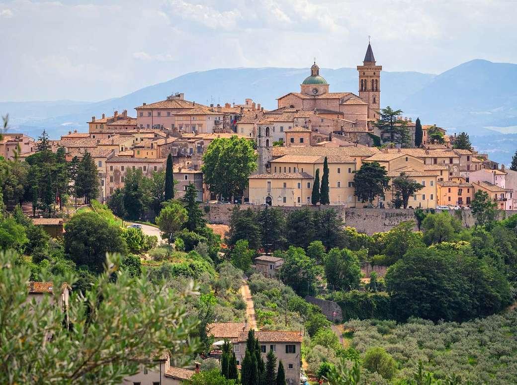 Trevi in Umbria Italia