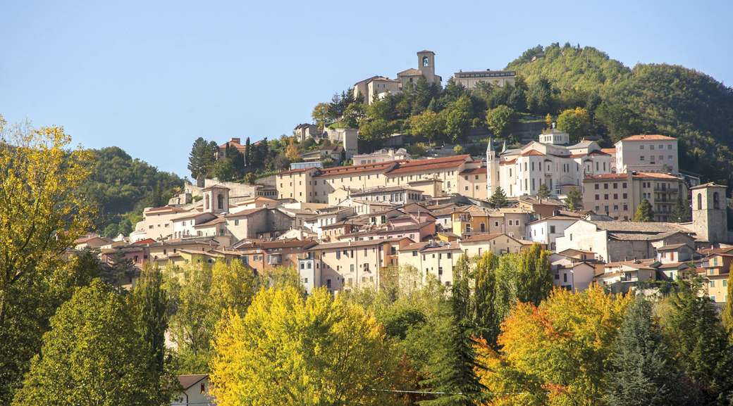 Orașul Cascia din Umbria