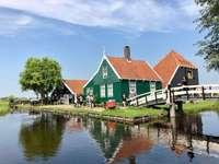 ház Hollandiában kirakós játék