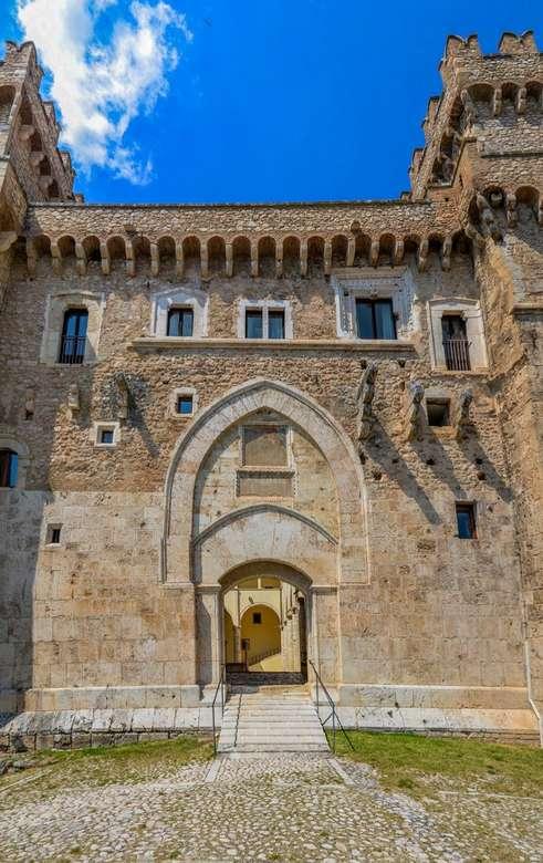 Celano Castello Piccolomini Region Lazio Italy online puzzle