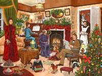 In der Weihnachtszeit.