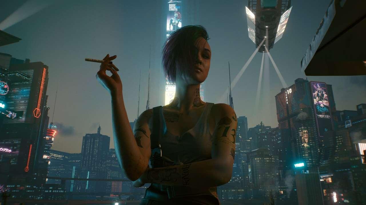 Judy Cyberpunk