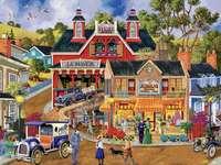 dawniej w miasteczku puzzle online