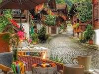 Alpejska wioska. puzzle online