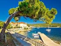 île de vis en croatie puzzle