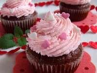 cupcakes pentru ziua de Valentin