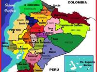 Провинции и столици на Еквадор