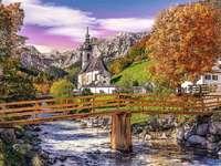 Бавария през есента.