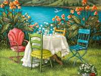 Пейзаж за романтична вечеря