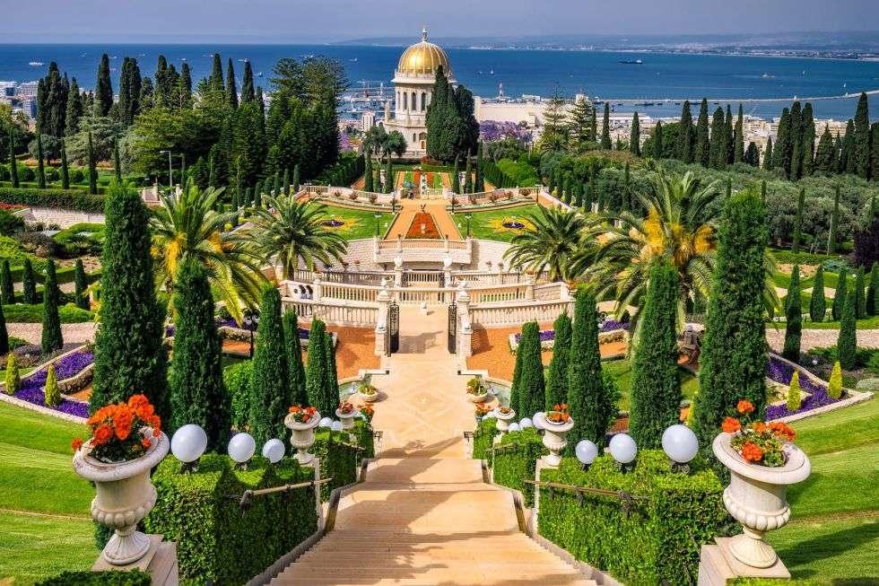 Baha'i temple in Israel